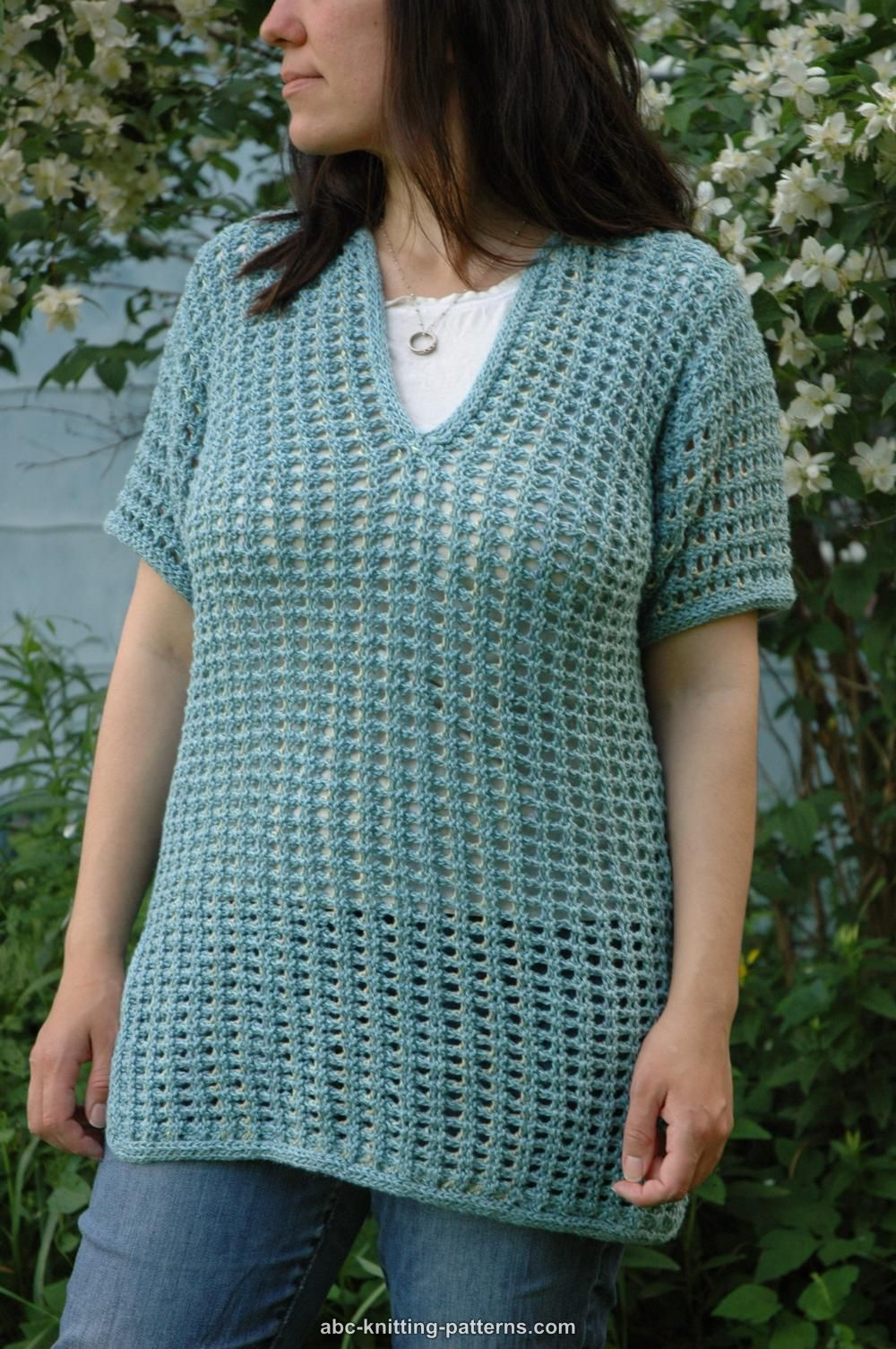 Subtle Mesh Summer Sweater | Knitting | Pinterest