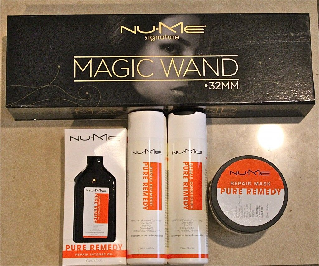 What I use to curl my hair: NUME Wand 32 MM #Hair #Curls #curlingwand