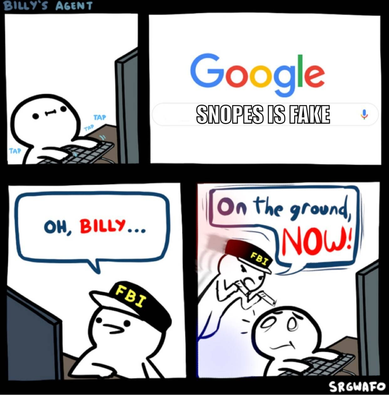 Thanks Fbi Guy Meme