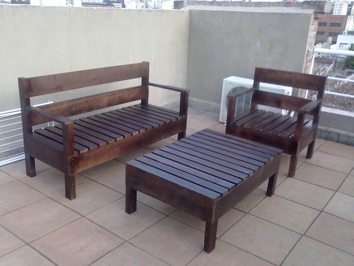 Sillones en madera para exteriores interior y jardines - Muebles para exteriores ...