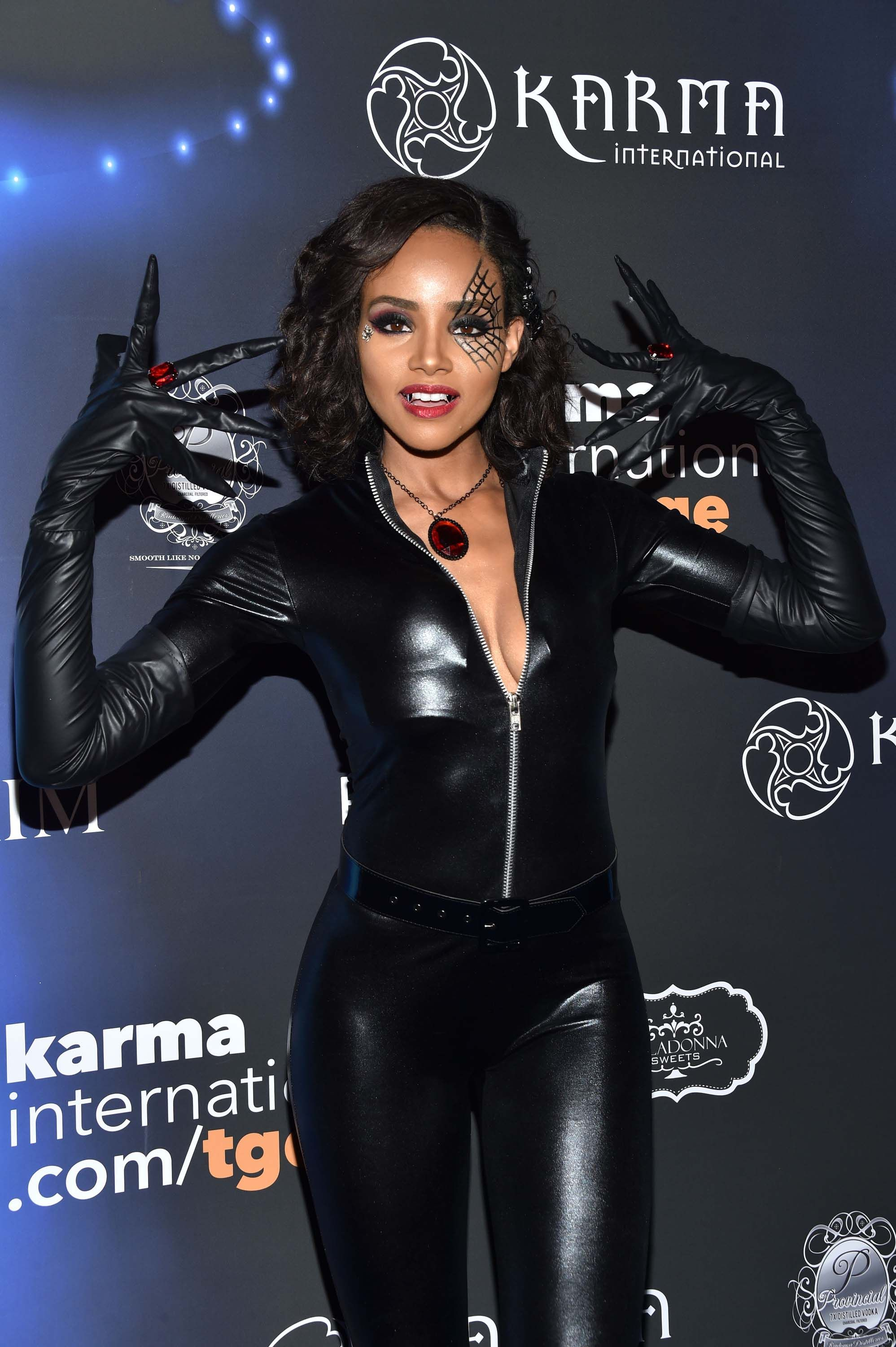 Maxium Magaizne Halloween Party 2020 Meagan Tandy attends annual MAXIM Magazine's Official Halloween