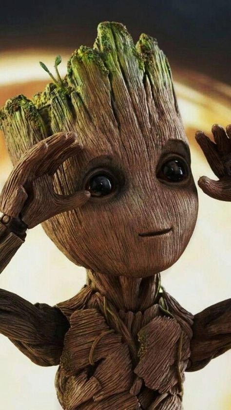 Baby Groot wallpaper by wxlf20 - d2a1 - Free on ZEDGE™