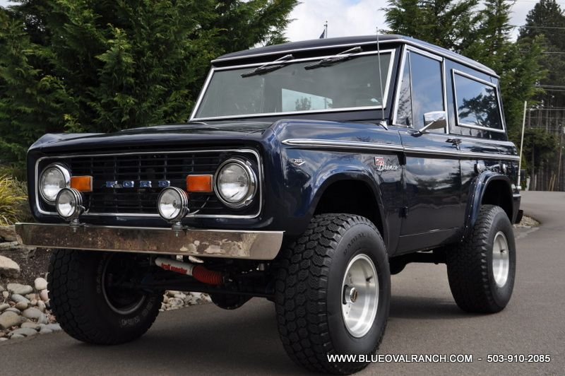 1967 Ford  BRONCO License plate tag 67 4x4 Off Road Vehicle half top pickup SUV