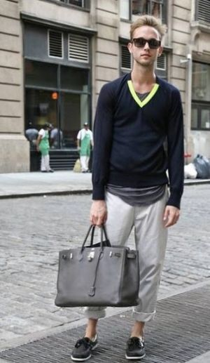 1408c3a3b36 boy with birkin bag Frockage  Hermes Birkin bag