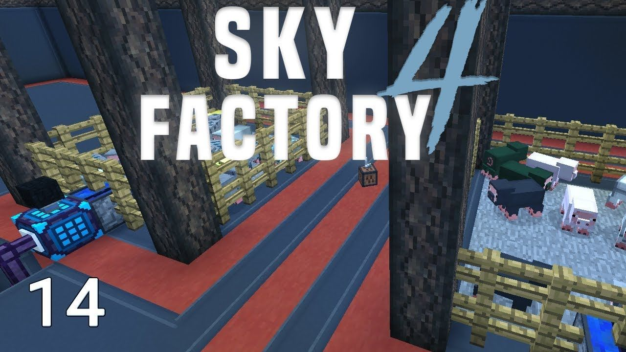 Sky Factory 4 Resource Hog Automation | Immersive experience