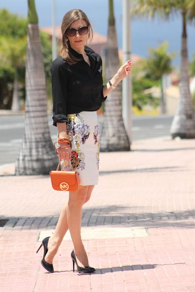 17 Best images about floral pencil skirts on Pinterest | Chambray ...