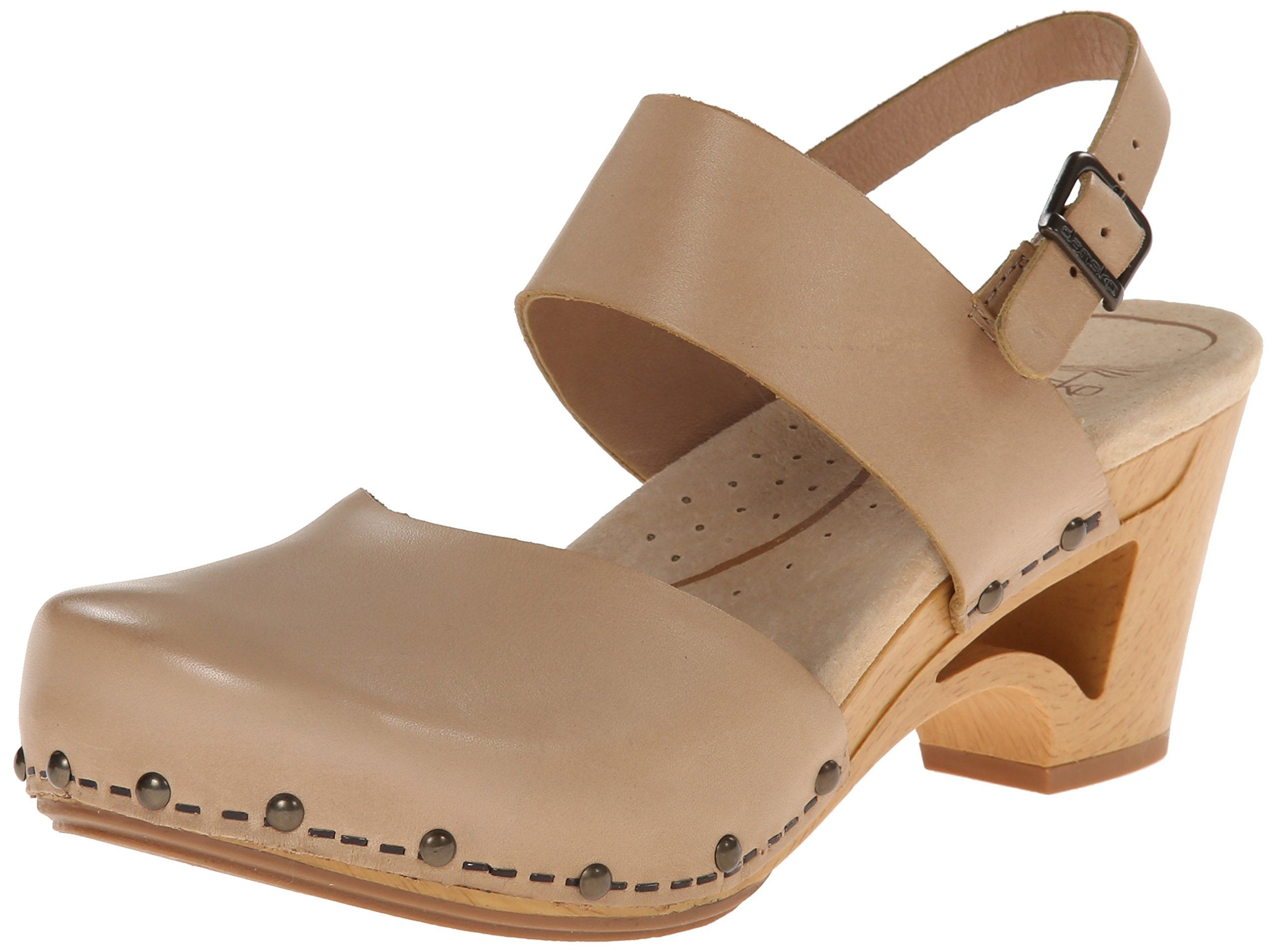 7a0e9f4759d Amazon.com  Dansko Women s Thea Ankle Strap Sandal  Clogs And Mules Shoes   Clothing