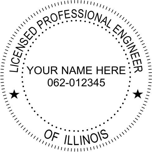 This Is A Standard Setup For An Illinois Professional Engineer