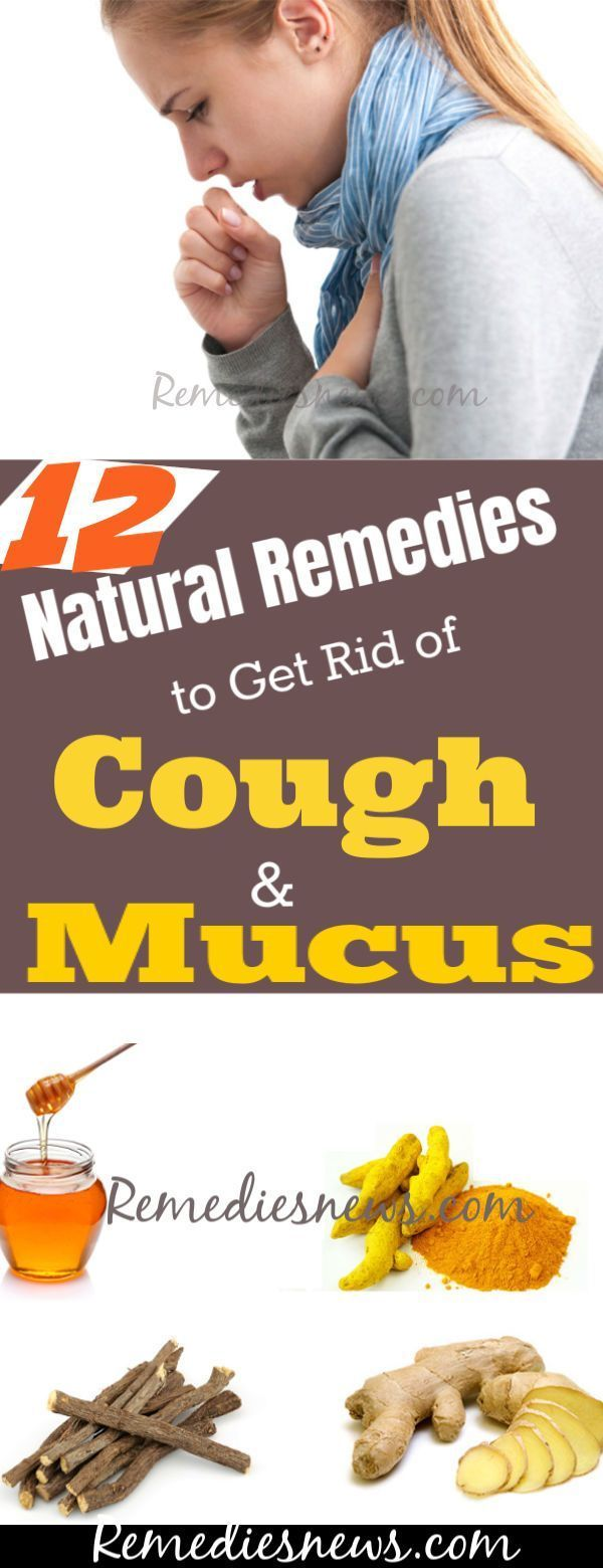 12 Natural Remedies to Get Rid of Cough and Mucus at Home