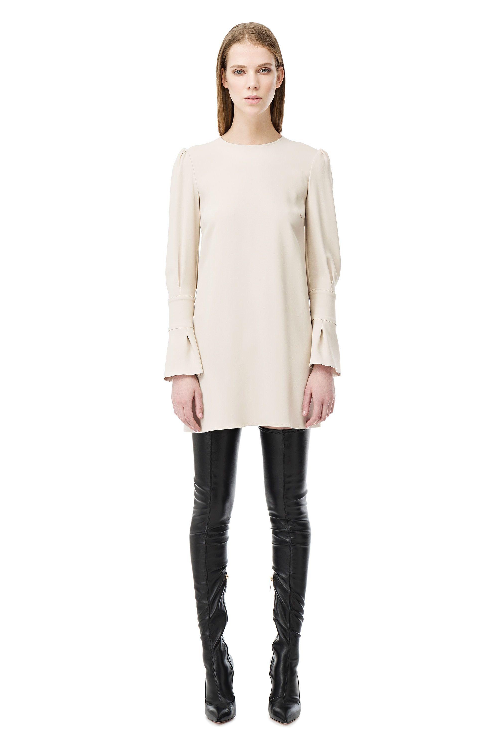 4545510d2a Mini abito con maniche svasate - Elisabetta Franchi