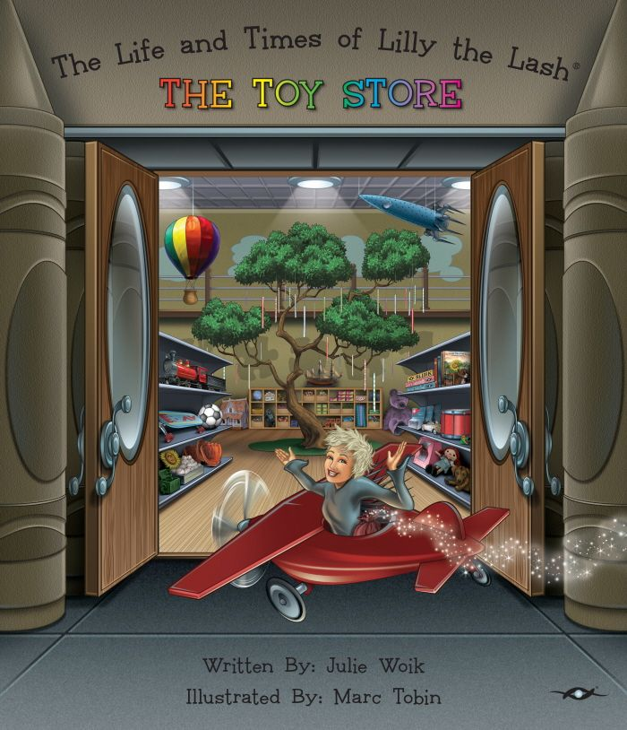 Client: Whimsical Wizard / Project: The Life and Times of Lilly the Lash ® The Toy Store / Book #2 of the Series / Location: Sarasota, FL