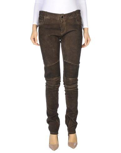 SLY010 Women's Casual pants Dark brown 16 US