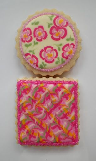 Cookie Favors - Buttercup Cookie - pattern