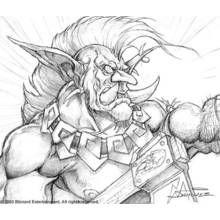 Dessin à Colorier Warcraft Jeux Vidéos 50 Coloriages à