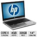 Hp Elitebook 8460p 14 Core I5 320gb Notebook On Sale! $549.99 todayOnSale.com