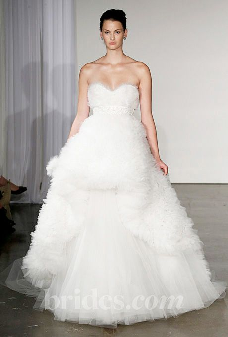 Brides.com: Jessica Biel's Wedding Dress: Get the Look. Marchesa. Gown by Marchesa  Browse more Marchesa wedding dresses.