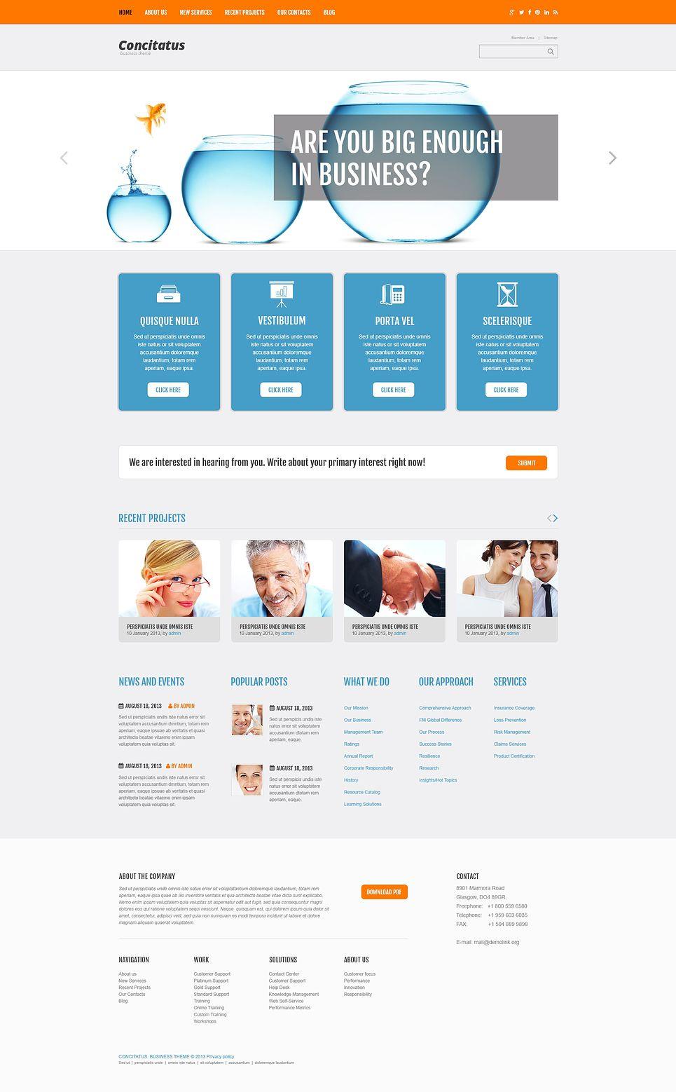 Management Company Responsive WordPress Theme, #Ad #Company #Management #Responsive #Theme