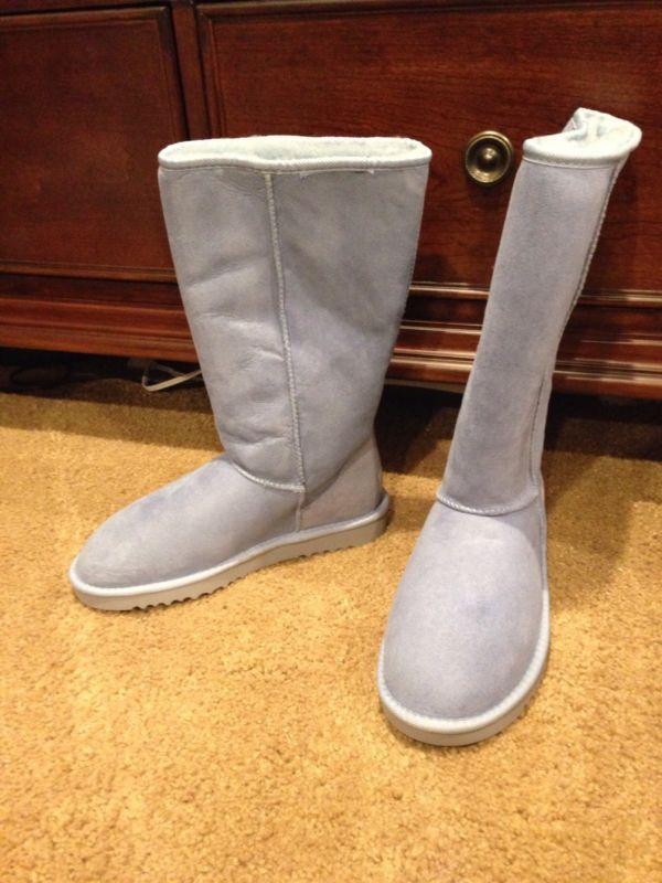 8db5399d8fb NIB Ugg Australia Tall Classic Boots Light Blue size 8 | Fashion ...