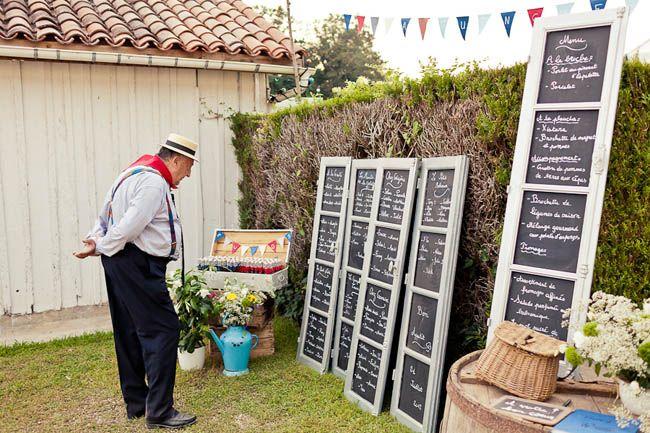 22 plan de table mariage guinguette guinguette - Deco table guinguette ...