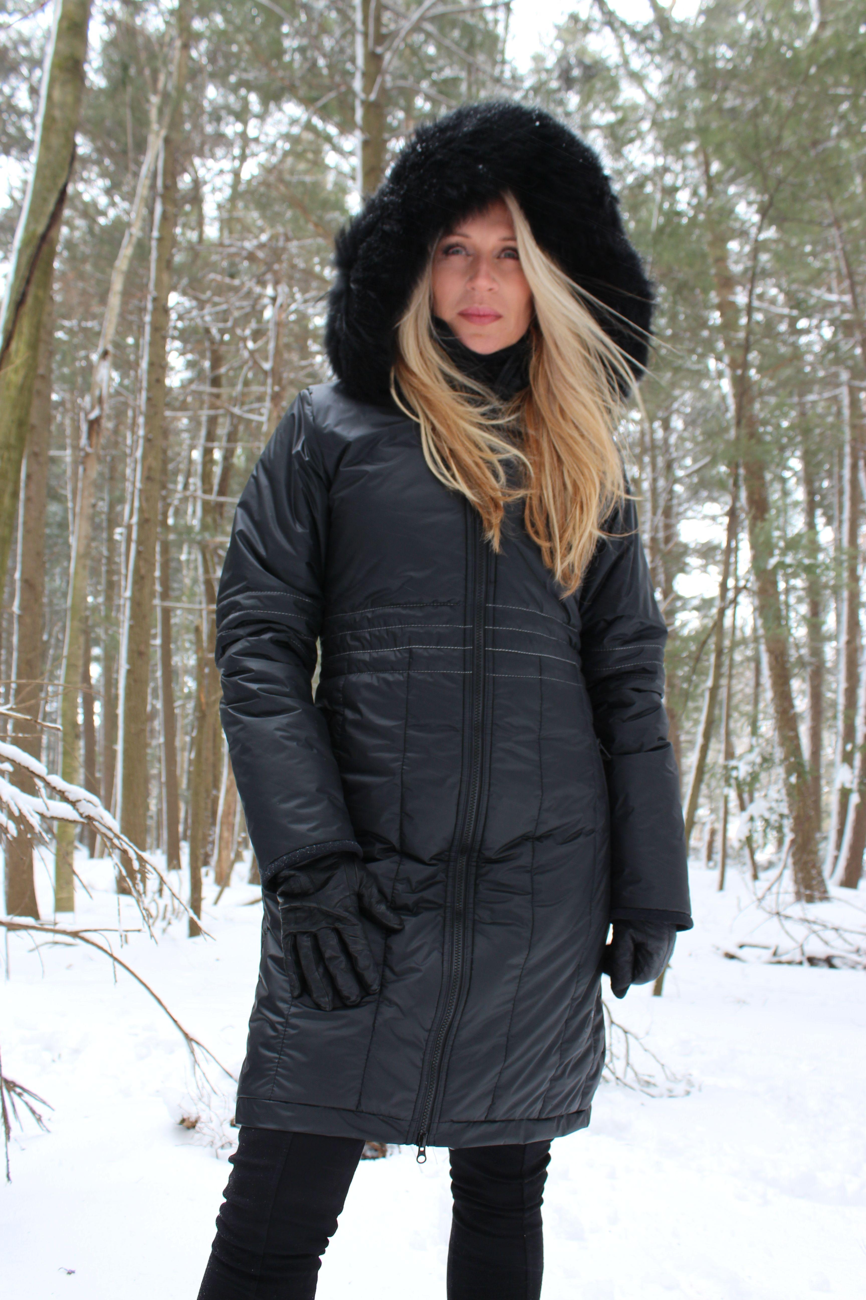Manteau d'hiver fait au canada