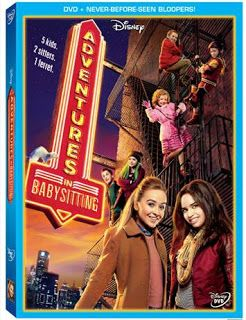 Disney Adventures In Babysitting DVD Review & Give