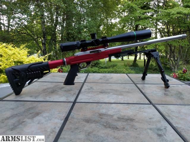 Armslist For Saletrade Ruger 1022 22lr Custom Target Bench
