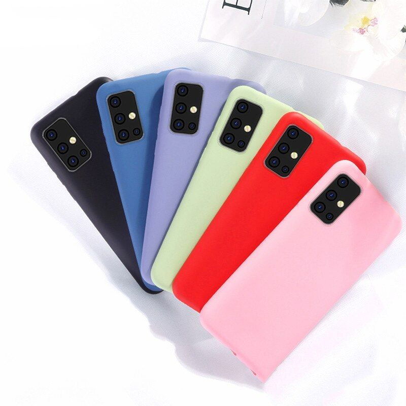 For Cover Samsung Galaxy M21 Case For Samsung M21 M11 Tpu Soft Cover For Samsung M31 M21 M11 A11 A31 A4 Fundas Para Samsung Samsung Fundas Imagenes Para Iphone