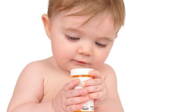 Infants born with drug addictions