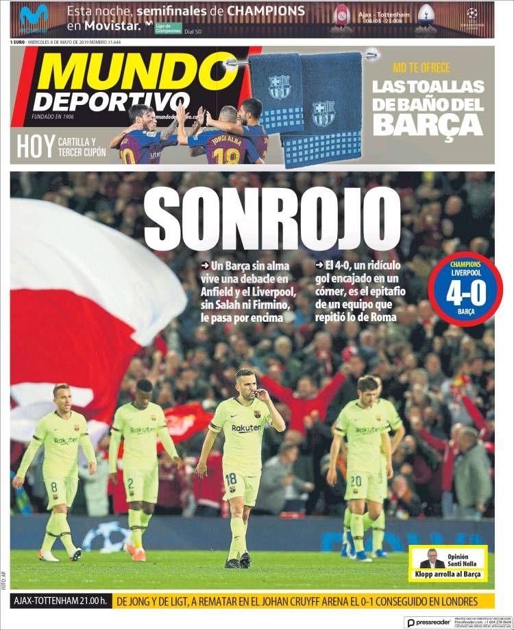 Pin de Sergio en Portadas / Front pages ️ Mundo