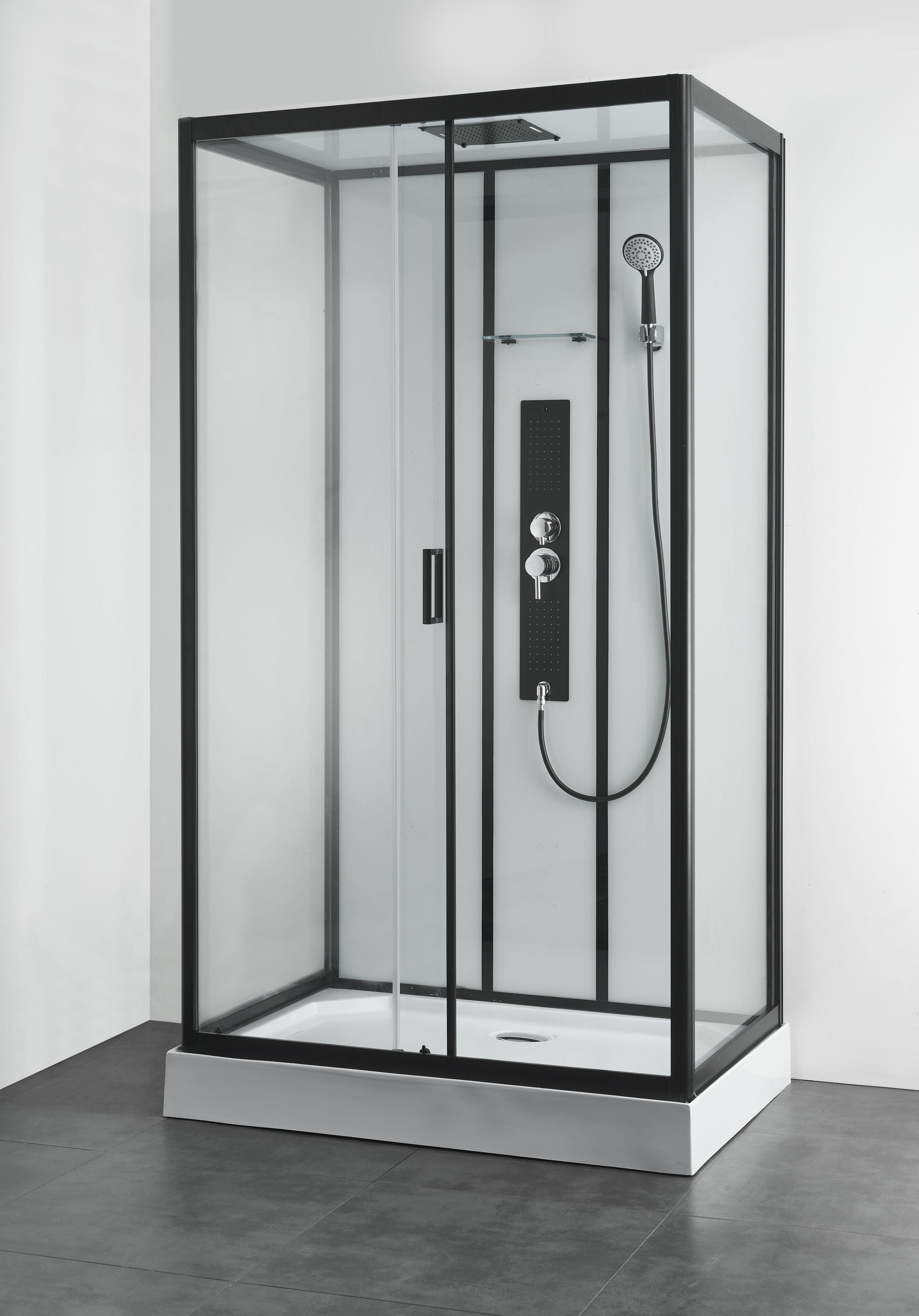 Edel und modern bei Home36.at Schwarz dusche