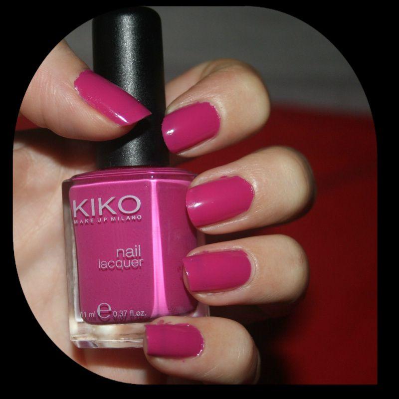 MichelaIsMyName: NOTD // KIKO Nail Lacquer 290 Magenta Scuro   Nail ...