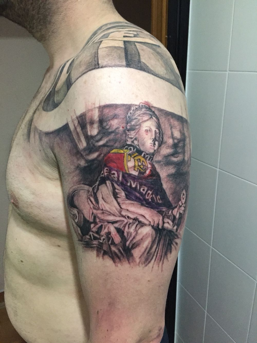 7c29a4280 Cibeles real madrid tattoo