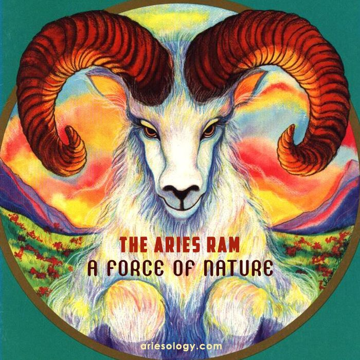 The Ram Is The Well Known Symbol Of Aries And Even Smaller Glyphs