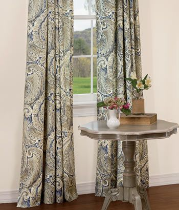 Casablanca Rod Pocket Curtains Country Curtains Curtains Country Curtains Rod Pocket Curtains