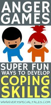 Anger games are a great resource to help kids develop coping skills and emotiona Anger games are a great resource to help kids develop coping skills and emotiona