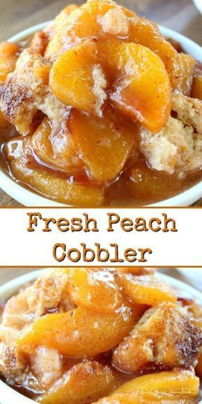 This fresh peach cobbler is a classic dessert recipe, loaded with fresh peaches with a delicious crunchy topping. This fresh peach cobbler is a classic dessert recipe, loaded with fresh peaches with a delicious crunchy topping.