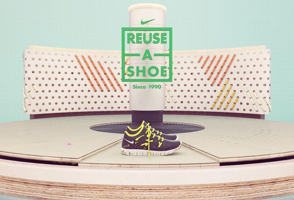 Nike – Reuse a Shoe | Nike, Reuse, Shoes