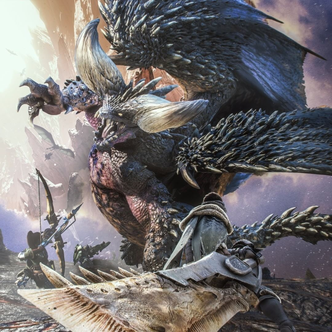 Monster Hunter World Wallpaper Dibujos Personajes De Fantasia Cazador De Monstruos
