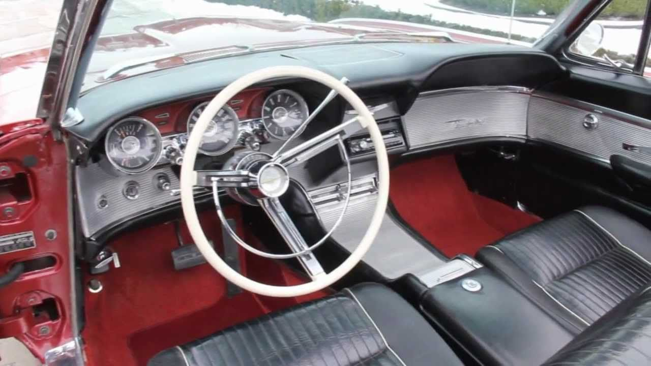 1962 Ford Thunderbird Convertible Classic Muscle Car for Sale in ...