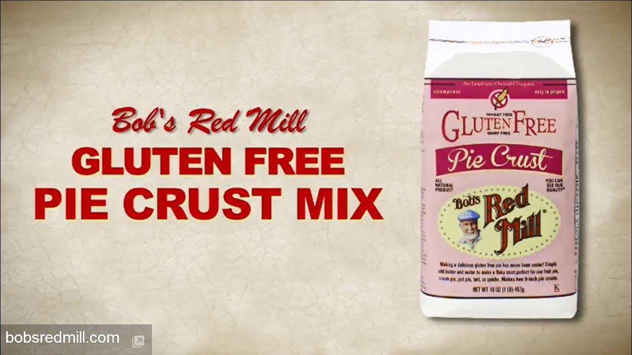 Gluten Free Pie Crust Mix Bob's Red Mill Gluten free