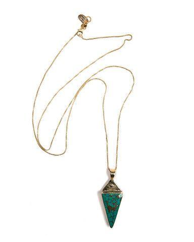 Karen London - Gyspy Necklace Turquoise