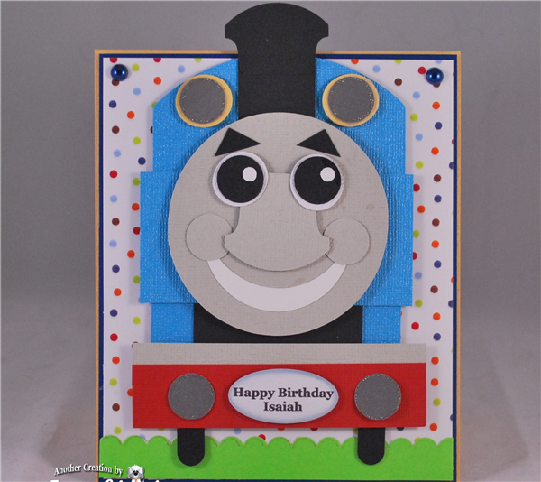 Project Center - Thomas the Train Card