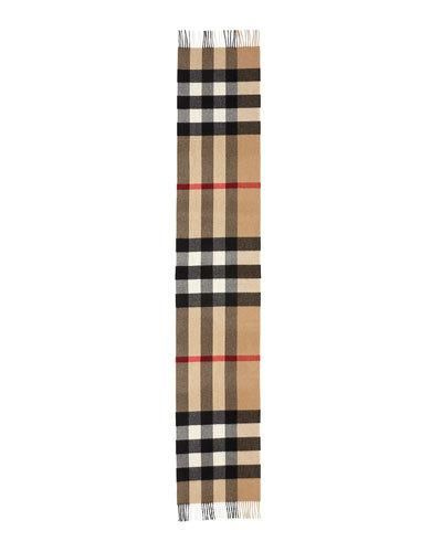 eb3013be433f Men s Giant-Check Cashmere Scarf