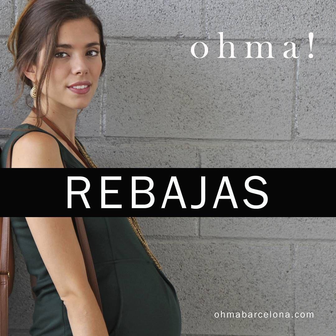 """""""No te pierdas nuestras rebajas! www.ohmabarcelona.com #ropapremama #ropaparaembarazadas #embarazo #embarazada #modapremama #maternitywear #maternitystyle…"""""""