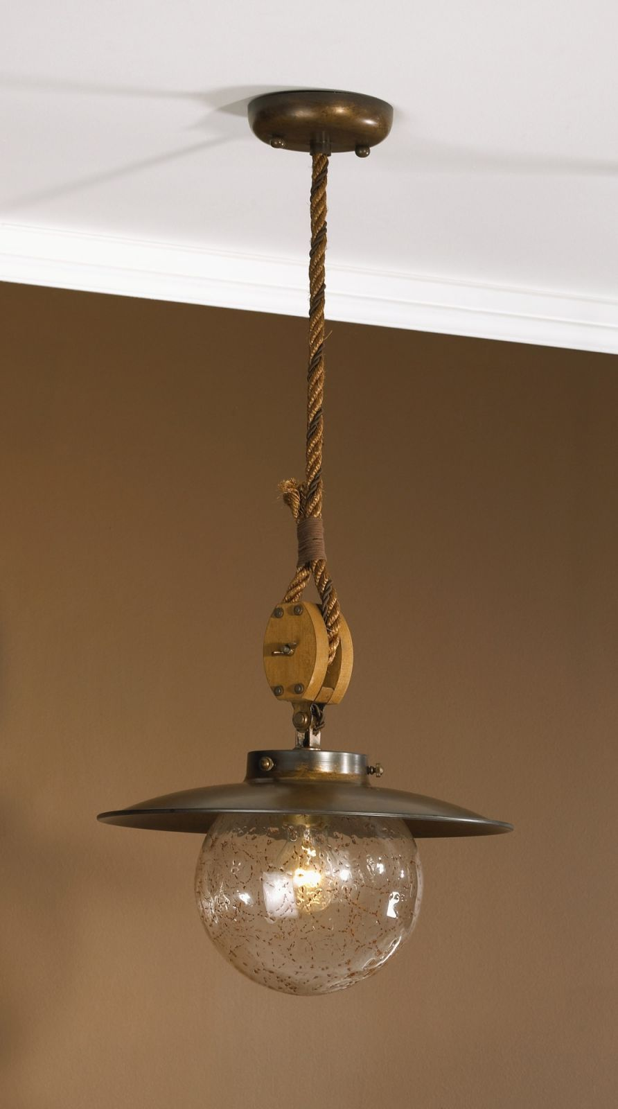 Nautical Tropical Lighting Fans Style