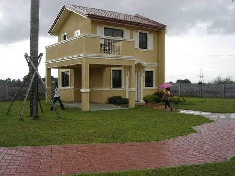 Simple 2 Storey House Design Model | 2 storey house design ...