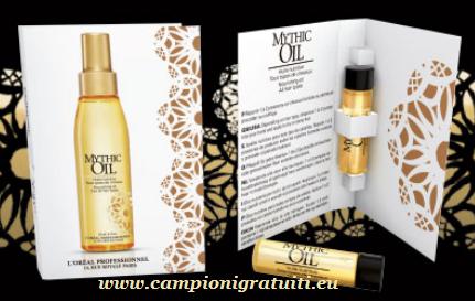 Campione gratuito L'Oréal Mythic Oil da 3 ml - Trattamento per capelli