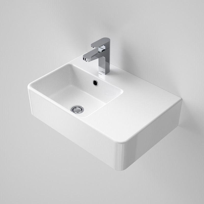 864115W Cube Extension Wall Basin   Right Hand Shelf 1772x1772 Caroma