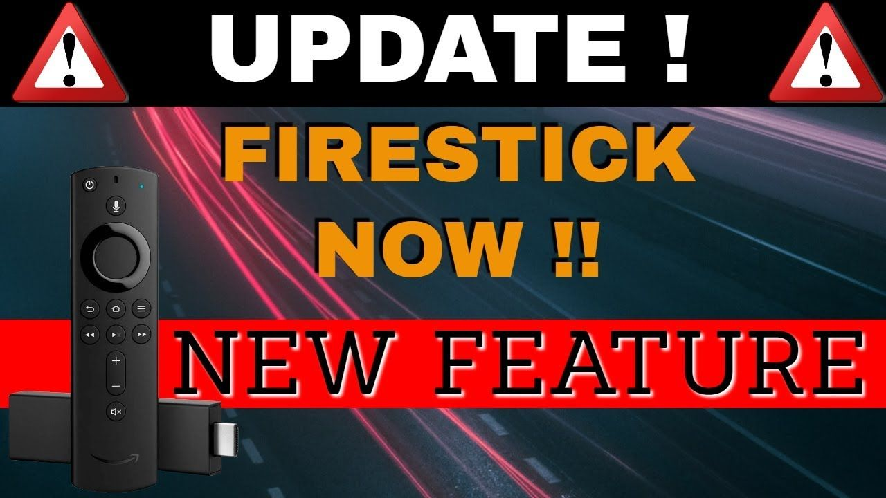 Firestick update new feature this is awesome