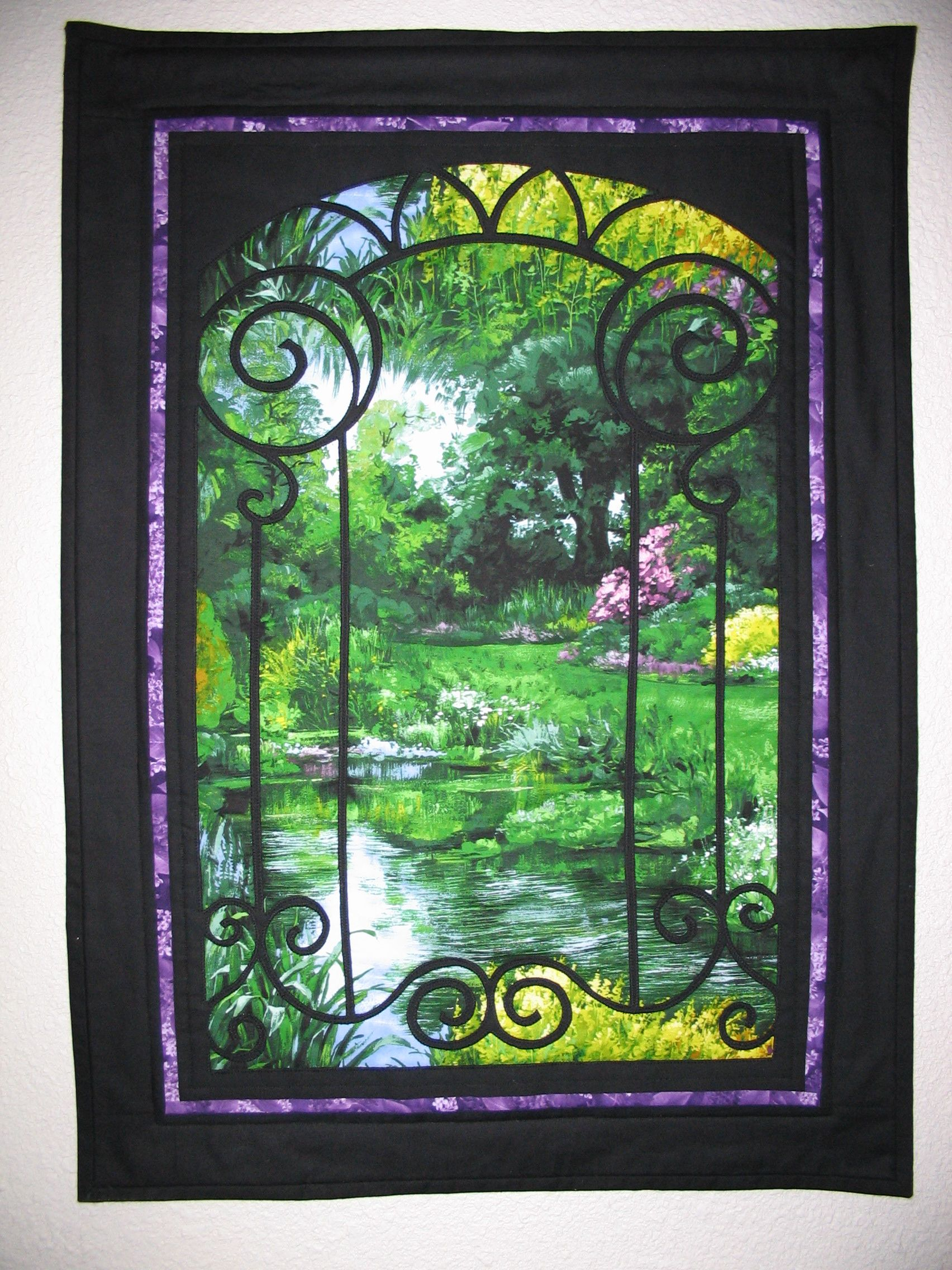 Victorian Window Wall Hanging